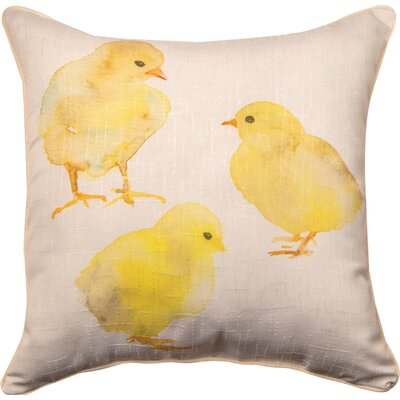 Chick and Burlap - Dye Throw Pillow