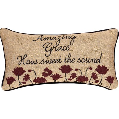 Amazing Grace Lumbar Pillow
