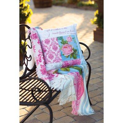 Blooming Buds - Dye Throw Pillow