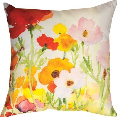 Betsys Ranunculus Throw Pillow
