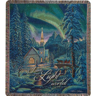 Light of the World Tapestry Cotton Throw