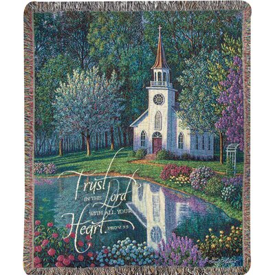 Sanctuary Tapestry Cotton Throw