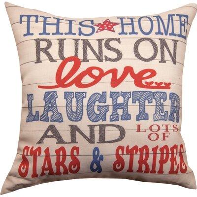 Land That I Love Stars & Stripes Throw Pillow