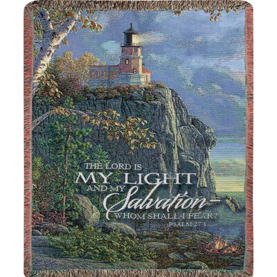 Guiding Light Tapestry Cotton Throw