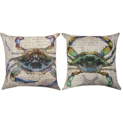 Crab I Throw Pillow