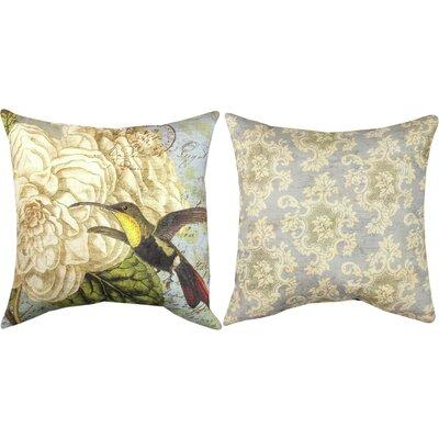 Hummingbird Flutter II Throw Pillow
