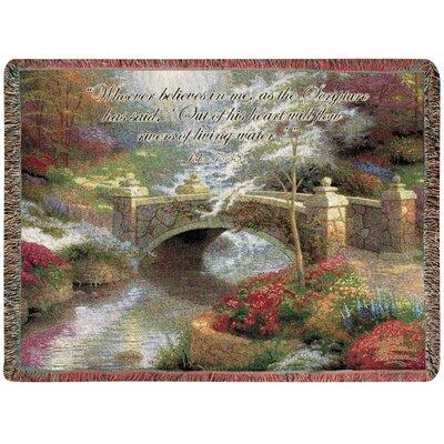 Bridge of Hope Tapestry Cotton Throw