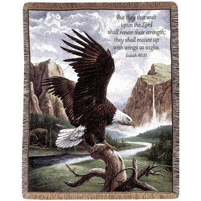 Freedom Picken Verse Tapestry Cotton Throw
