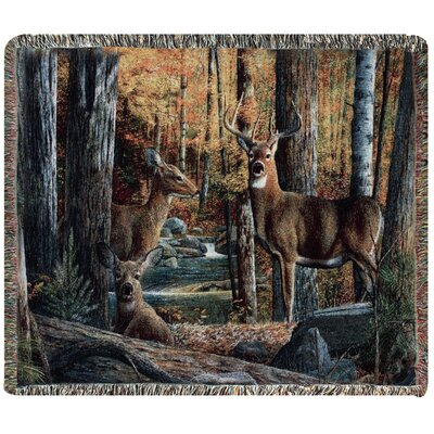 Broken Silence II Tapestry Cotton Throw