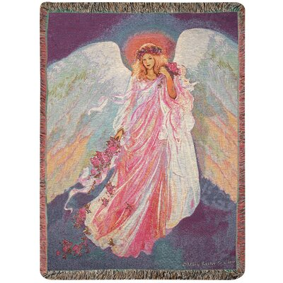 Messenger of Spring Tapestry Cotton Throw