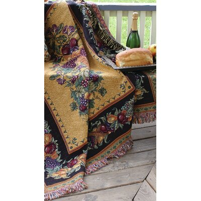 Old World Italy Tapestry Cotton Throw