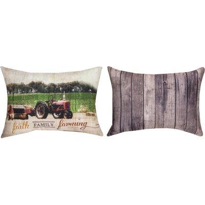 Faith Family Farming Lumbar Pillow