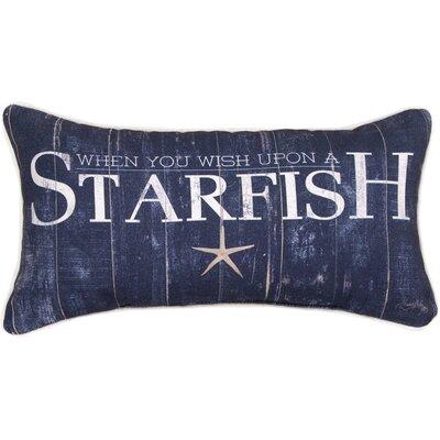 When You Wish Upon a Starfish Lumbar Pillow