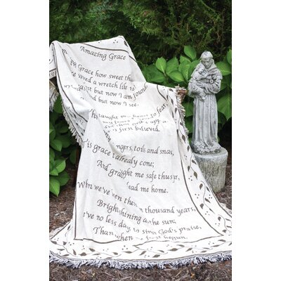 Amazing Grace 2 Layer Cotton Throw
