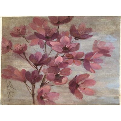 Perrin Pink Area Rug Rug Size: 4 x 6
