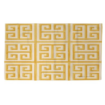 Kimura 2 Yellow Area Rug Rug Size: 2 x 3