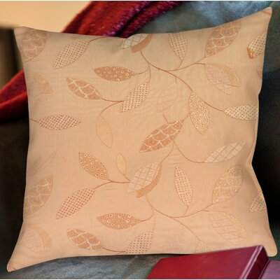 Wasinger Printed Throw Pillow Size: 16 H x 16 W x 4 D, Color: Salmon