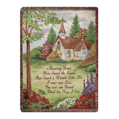 Amazing Grace Tapestry Cotton Throw