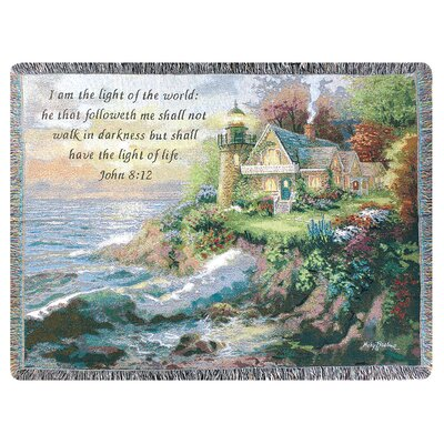 Guardian of the Sea Tapestry Cotton Throw