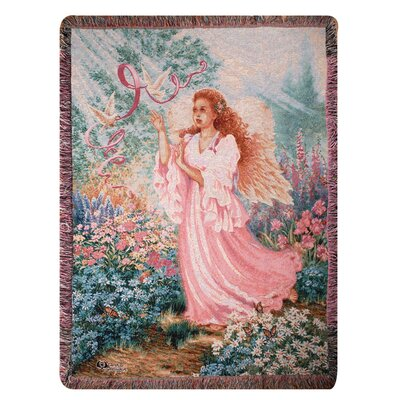 Dawn of Hope Tapestry Cotton Throw