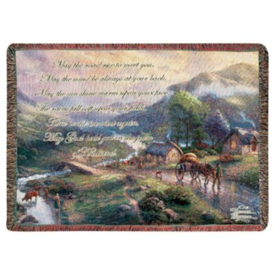 Emerald Valley Tapestry Cotton Throw