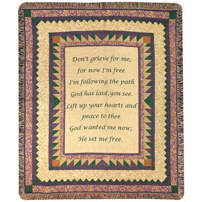Grandmother Tapestry Cotton Throw