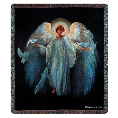 Messenger of Peace Tapestry Cotton Throw