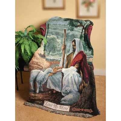 Lost No More Tapestry Cotton Throw