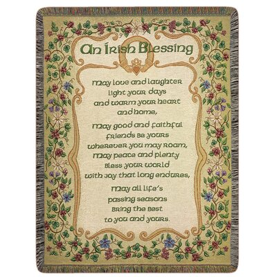 Peace and Plenty Tapestry Cotton Throw