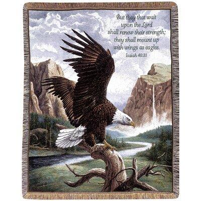 Freedom Picken Verse Tapestry Cotton Throw