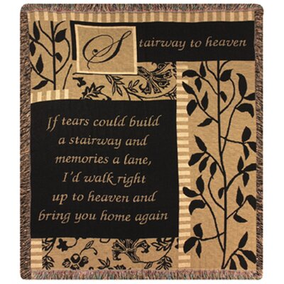 Stairway to Heaven Tapestry Cotton Throw