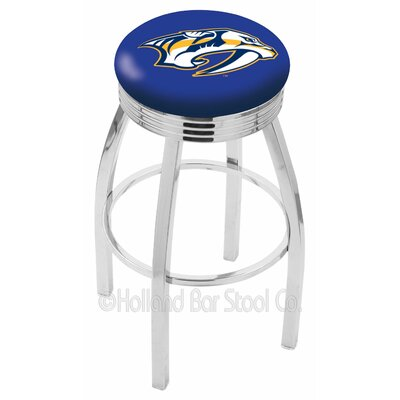 NHL 30 Swivel Bar Stool NHL Team: Nashville Predators