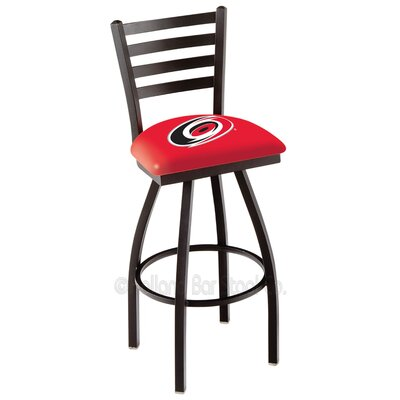 NHL 36 inch Swivel Bar Stool NHL Team: Carolina Hurricanes
