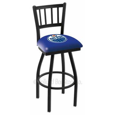 NHL 36 Swivel Bar Stool NHL Team: Edmonton Oilers