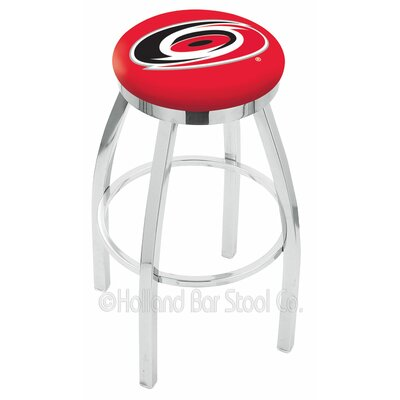 NHL 30 Swivel Bar Stool NHL Team: Carolina Hurricanes
