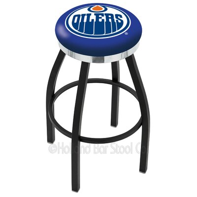 NHL 36 Swivel Bar Stool NHL Team: Edmonton Oilers