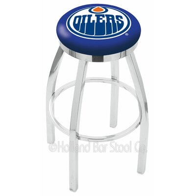 NHL 30 Swivel Bar Stool NHL Team: Edmonton Oilers