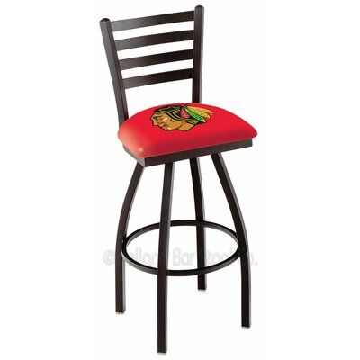 NHL 36 Swivel Bar Stool NHL Team: Chicago Blackhawks - Red