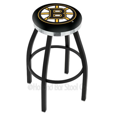 "NHL 36"" Swivel Bar Stool NHL Team: Boston Bruins L8B2C36BosBru"