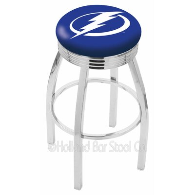 NHL 30 Swivel Bar Stool NHL Team: Tampa Bay Lightning