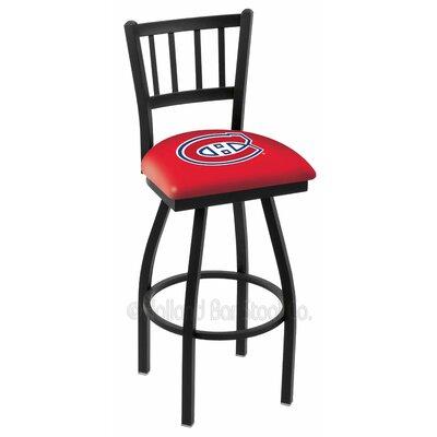 NHL 36 Swivel Bar Stool NHL Team: Montreal Canadians