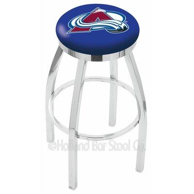 NHL 25 Swivel Bar Stool NHL Team: Colorado Avalanche