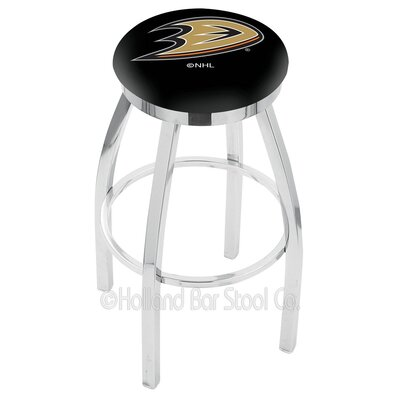NHL 25 inch Swivel Bar Stool NHL Team: Anaheim Ducks