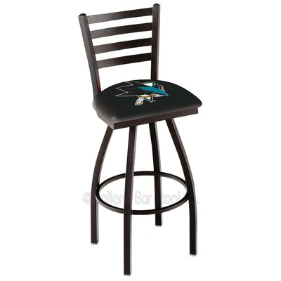 NHL 36 Swivel Bar Stool NHL Team: San Jose Sharks