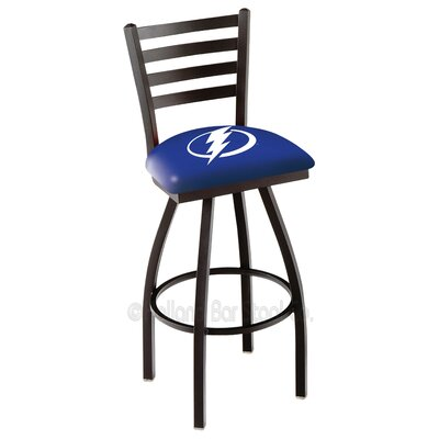 NHL 36 inch Swivel Bar Stool NHL Team: Tampa Bay Lightning