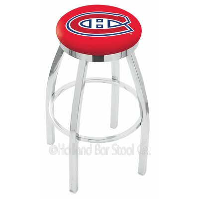 NHL 30 Swivel Bar Stool NHL Team: Montreal Canadians