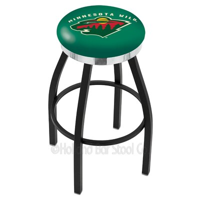 NHL 36 Swivel Bar Stool NHL Team: Minnesota Wild