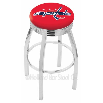 NHL 30 Swivel Bar Stool NHL Team: Washington Capitals