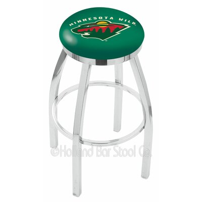 NHL 30 Swivel Bar Stool NHL Team: Minnesota Wild