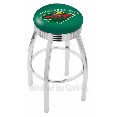 Minnesota Wild Bar Stool-l8c3c - L8c3c25minwld - Chairs Table Nhl Stool L8C3C25MINWLD